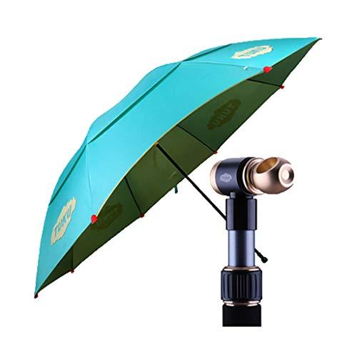 Weg kühl 6S / Angeln Regenschirm / 2,2 m/TUKU 2,4 Meter/Universal/Folding/Angeln Regenschirm/Sonnenschutz/Wind/Regenschirm/Verdickung/Regenschirm (Color : D, Size : 2.2M) (Folding Rack Drucken)