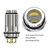 Evaporatore delle e-sigarette della testa della singola bobina Wismec WL01 0,15ohm di Wismec per la bobina di Reuleaux Tinker Vape di Wismec Column Tank Reuleaux Tinker Vape Coil