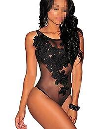 Amazon.es  Pijama Body - Mujer  Ropa 8988b6bd2495