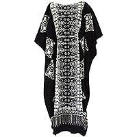 Cool Kaftans - Vestido - para mujer Negro negro