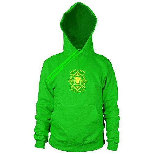 Angel Grove Academy - Herren Hooded Sweater, Größe: XL, Farbe: (Power Grüne Ranger Samurai Kostüme)