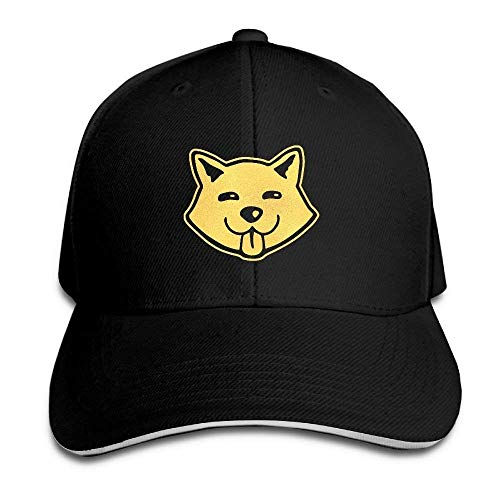 Errterfte Dog Shiba Inu Doge 100% Cotton Baseball Cap Plain Low Profile Hat Fashion Trucker Personalized Hat Comfortable Adjustable