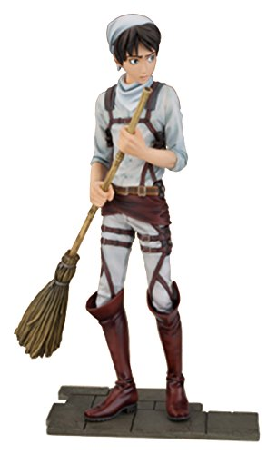 Attack on Titan - Cleaning Eren Jaeger PVC Fig.