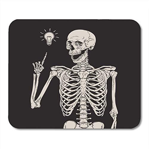Halloween Design Ideen - AOHOT Mauspads Halloween Human Skeleton Has