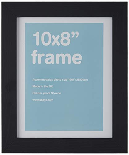 GB eye 10 x 8-Inch MDF Wrapped Frame, Black by GB Eye Limited