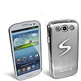 Handy Alu Case Samsung I9300 Galaxy SIII Chrom Silber Silver