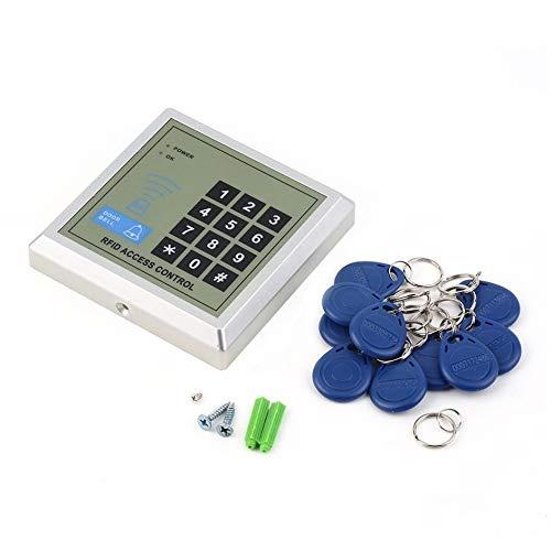 Matthew00Felix Elektronische RFID Proximity Eintrag Türschloss Access Control System + 10 Schlüsselanhänger Proximity Access Control System