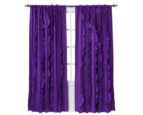 xhilaration-light-blocking-window-panel-purple-with-ruffles-50-x-84-one-window-panel-by-xhilaration