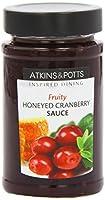 Atkins & Potts Honeyed Cranberry Sauce (Pack of 3)