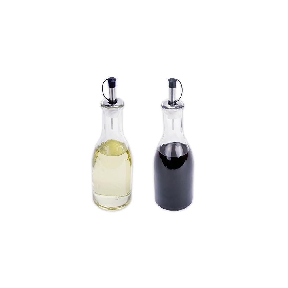 Essig L Spender Flasche Aus Glas Mit Ausgieer Je 275 Ml Im 2er Set