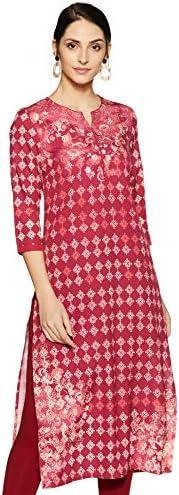 Amazon Brand - Tavasya Women's Polyester Straight K