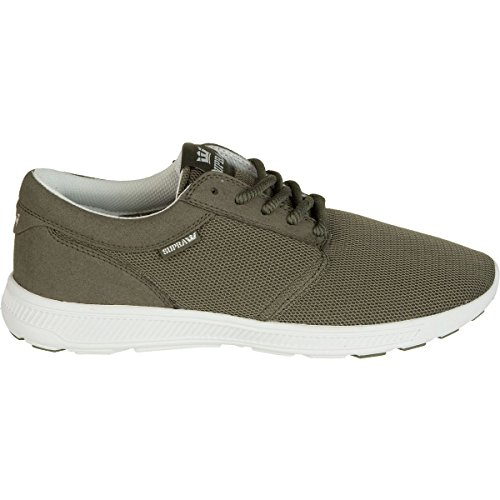 Supra Hammer Run, Sneakers Basses Adulte Mixte Dusty olive - off white