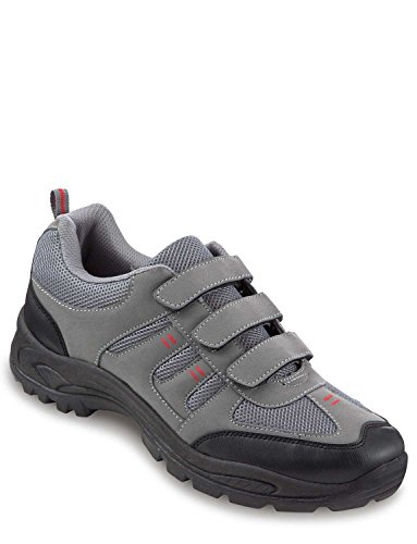 Dr Keller Mens Touch Fasten Wide Fit Walking Shoe