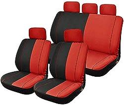 Auto-Sitzbezug-Set Kfz-Zubehör Innenraum for Autos - Anzüge Athleten, Haustiere und Kinder Passend for Universal-Cars Trucks & SUVs dsnmm
