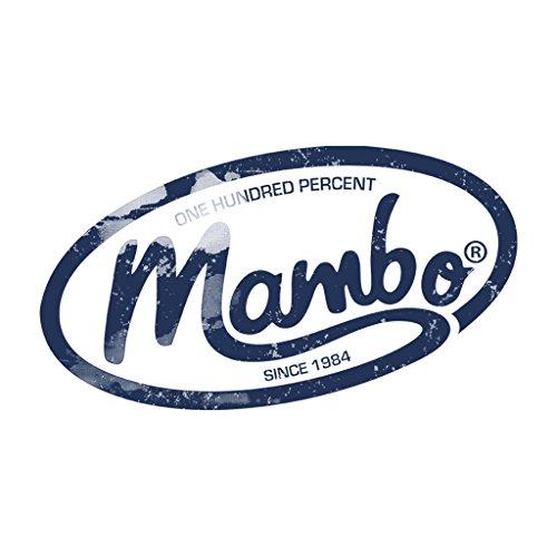 Mambo One Hundred Percent Logo Dark Women's Vest White