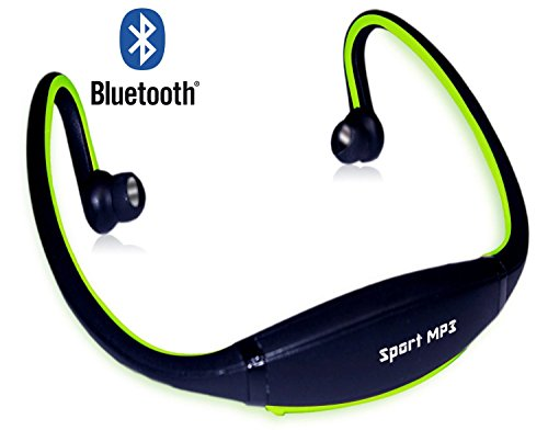 HB Auriculares Bluetooth para deportes. Sport Stereo Auriculares Manos Libres para Correr iPhone 4S, iPhone 5, iPad 4, iPad Mini,...