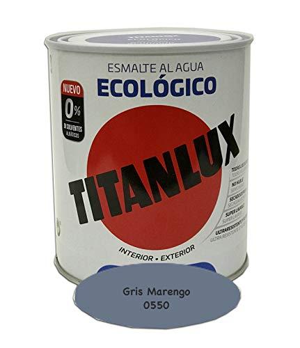 Titanlux - Pintura Ecológica Acrílica Titan 750 ml (Gris Marengo 0550)