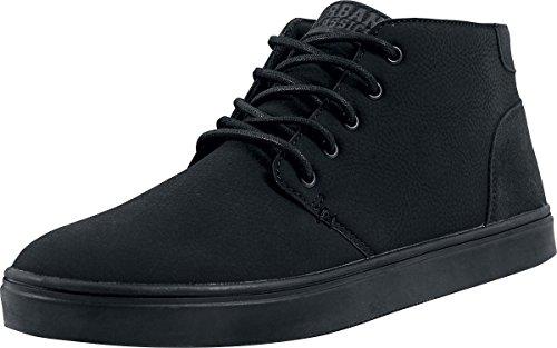 URBAN CLASSICS Scarpe casual uomo donna Hibi Mid Shoe TB1290 (41, Black)