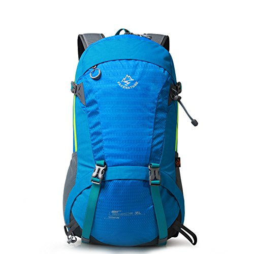 Outdoor Bergsteigen-Tasche/Rucksack-paar/ Wandern Pack Blau