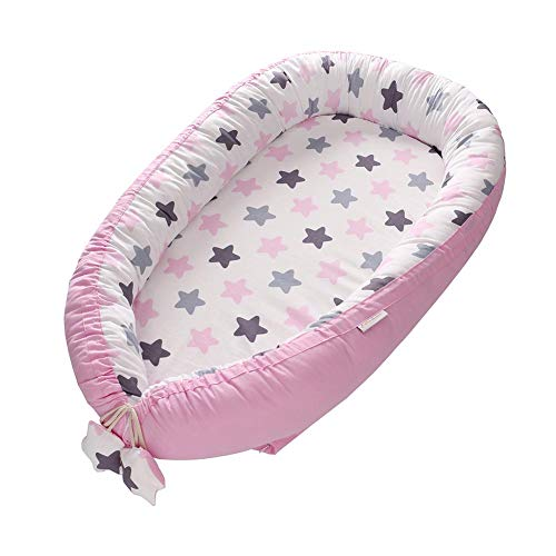 Eternitry Nido portátil Transpirable Suave, sillón reclinable para bebés, Cuna portátil súper...