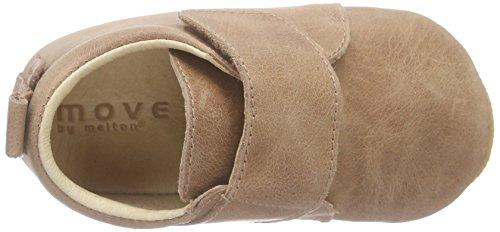 MOVE Prewalker Baby Mit Rutschfester Sohle, Chaussons pour bébé mixte bébé Beige - Beige (Camel470)
