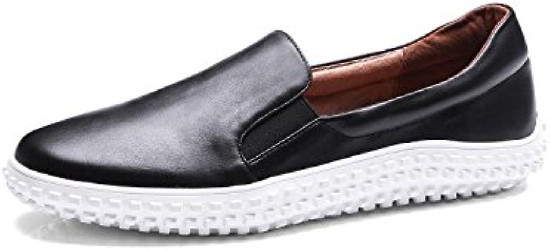 ZFNYY Los Zapatos de Las Mujeres Salvajes Ocasionales Zapatos Planos Salvajes Salvajes Zapatos Perezosos de los...