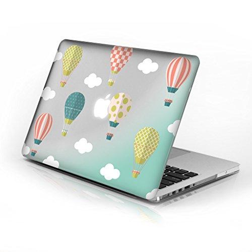 für MacBook Air 33cm Modellnummer A1369und A1466, Series 5Design mit klarer Boden Fall, kommen mit Tastatur Cover Hot Air Ballons 33 cm (13 Zoll) ()