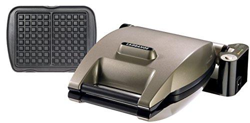 Lagrange 019122  Premium -  Piastra per waffle, Taupe metallizzato