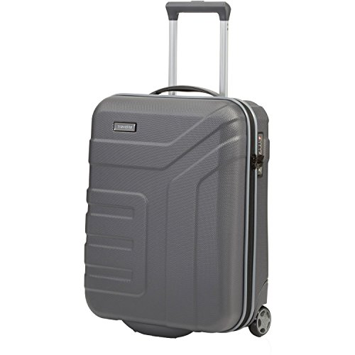 "Travelite Valise trolley ""Vector"" avec 2 roues anthracite Koffer, 55 cm, 44 liters, Schwarz (Anthracite)"