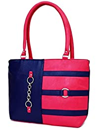 232a7a1321b6 SPLICE Women Tote Bags Women s Quality Hot Selling Trendy Shoulder Handbags  (Pink)