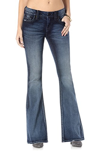 Rock Revival - Frauen-Luz FM201 Bootcut Jeans Denim