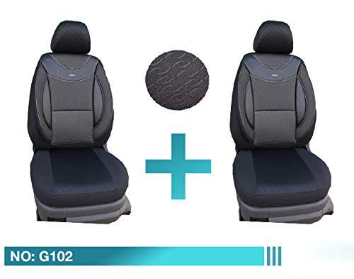 Maß Sitzbezüge Mazda CX-5 Fahrer & Beifahrer ab BJ 2011 Farbnummer: G102