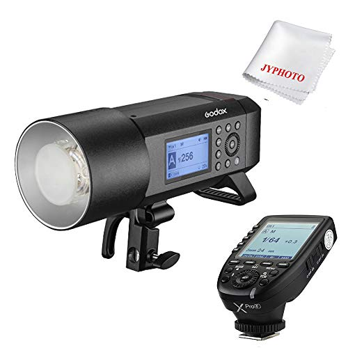 Godox AD400 Pro Blitzgeräte 400ws GN72 TTL 1/8000 HSS Batteriebetriebenes Blitzt mit Xpro-F Auslöser Sender für Fujifilm SLR Camera Monolight-flash-kit