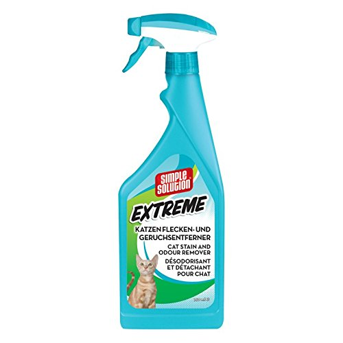 simple solution Extreme Katzen Flecken und Geruchsentferner 750 ml