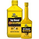 Bardahl Top Diesel 1Lt + DPF Cleaner 250mL - Additivo Diesel e Pulitore FAP Filtro Antiparticolato