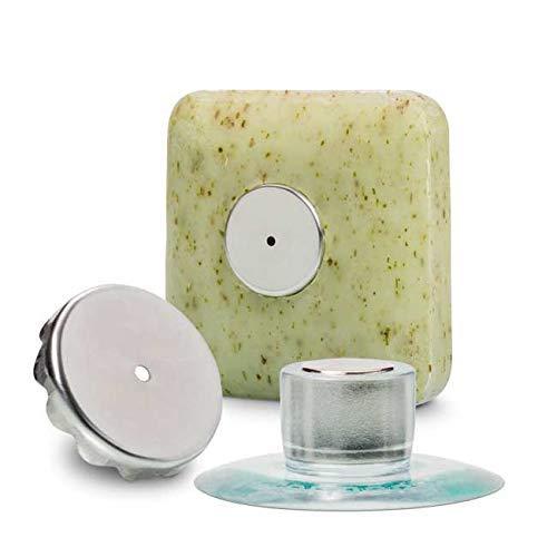 Seifenhalter mit Magnet by SudoreWell® / Savont - neu, innovativ, sauber und umweltfreundlich