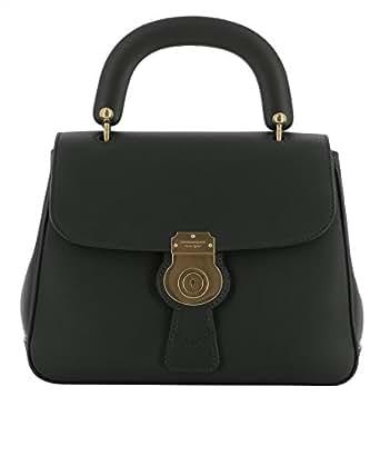 Burberry Women's 4054220 Black Leather Handbag