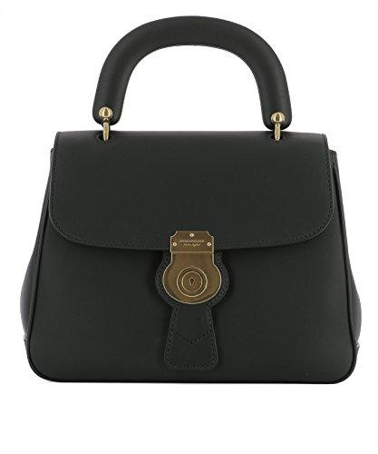 Burberry Damen 4054220 Schwarz Leder Handtaschen -