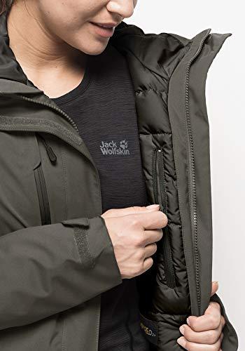 411W7E500CL - Jack Wolfskin Women's Troposphere Winterwanderjacke Wasserdicht Winddicht Atmungsaktiv Weather Protection Jacket
