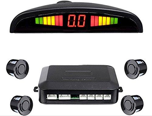 Preisvergleich Produktbild Reakosound LED Display mit 4 Parksensoren, Auto Fahrzeug Rückfahrsicherung Radar System PK-P02A für alle Autos