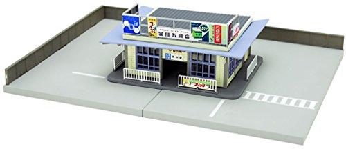 TomyTEC 265535 - Accessoires - ländliches de Bus Depot