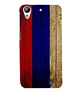FUSON 3D Designer Back Case Cover for HTS Desire 728 - D9799