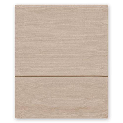 Fino Tischläufer ca. 40 x 150 cm mit Saum hochwertig & knitterarm mit großer Farbauswahl (071 Beige) (Beige Serviettenringe)