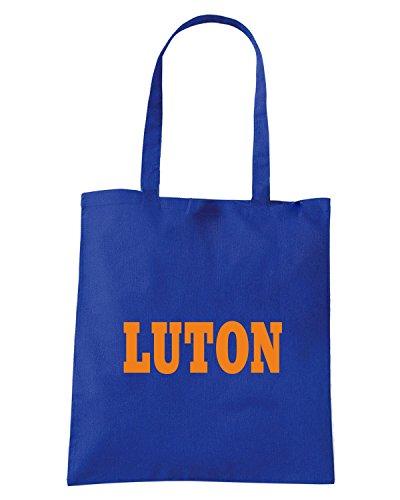 T-Shirtshock - Borsa Shopping WC0772 LUTON Blu Royal