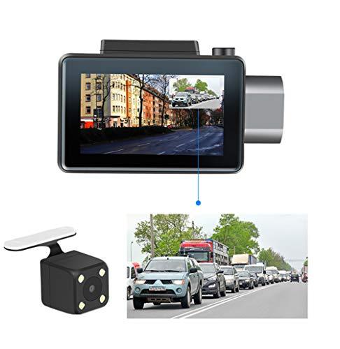 Mr. Fragile Dash Cam, 3G-Version Mini Versteckte WiFi Driving Recorder, Vorne und Hinten Dual-Kamera 1080P HD Nachtsicht, mit G-Sensor, Zyklus Aufnahme, Keine SD-Karte