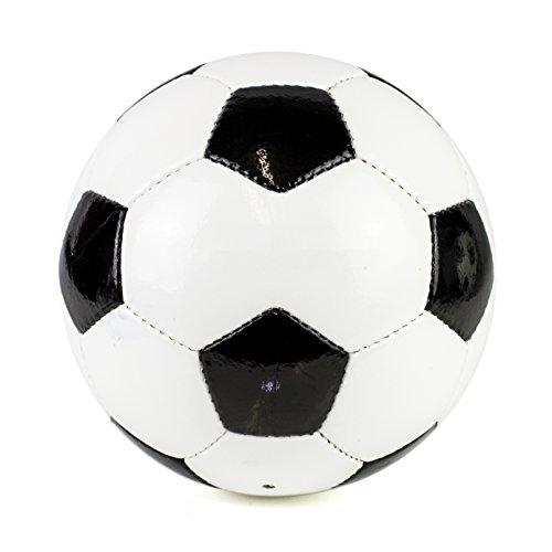 MJS Sports Ltd schwarz & weiß Traditionelle 30Panel Fußball Fußball Größe 5 -