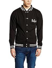 Unknown Men's Drop T Solid Black Varsity Jacket