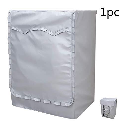 Waschmaschine Beschützer Trockner Abdeckung Staubschutzhülle Waschtrockner Im Freien Top Load Frontlader-unterlegscheiben Abdeckung Waschmaschine