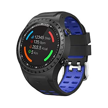 Inkasus Montre connectee GPS - Edition Adventure - Bleue