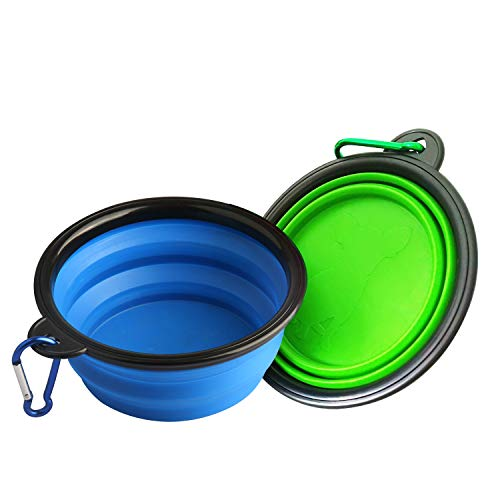 Onarway Collapsible Dog Bowls 2-...